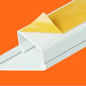 CABLE TRUNKING WITH ADHESIVE TAPE